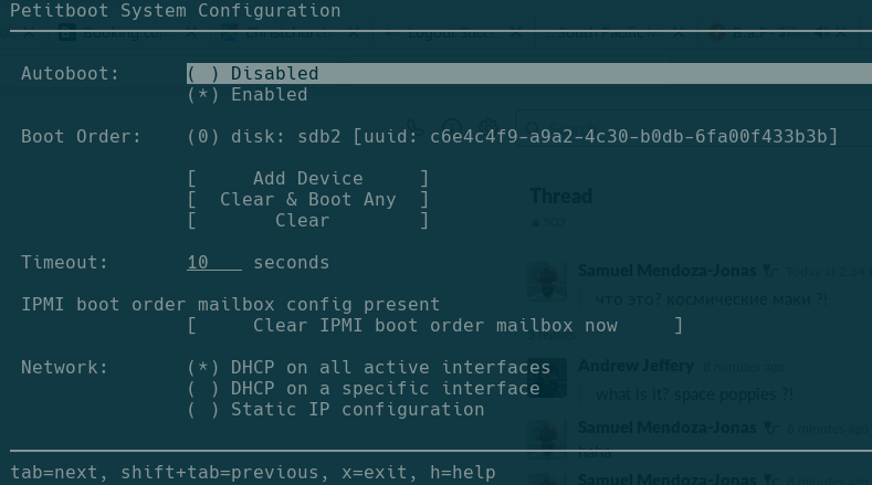 Active Mailbox Override